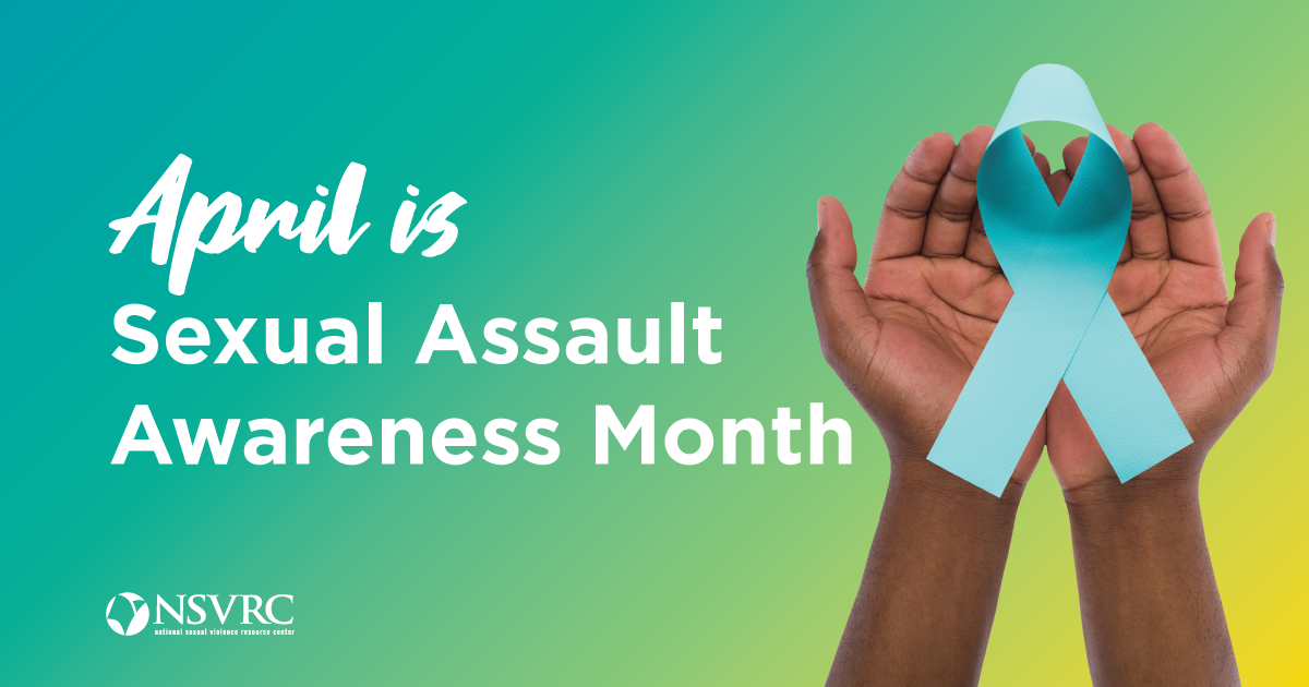 Is your library or bookstore ready for Sexual Assault Awareness Month?
